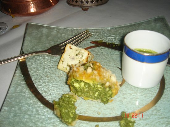 The Oberoi Udaivilas: Starters