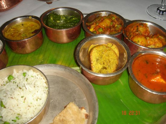 The Oberoi Udaivilas: Disappointing Thali
