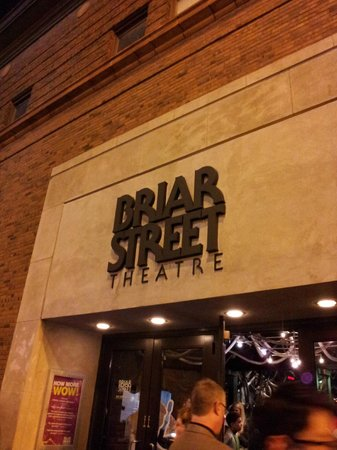 Blue Man Group: Entrance to the theater