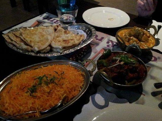 AAJ India Cafe & Restaurant: saffron rice