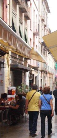 Calle Navas: 通り