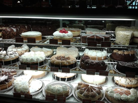 The Cheesecake Factory: yummy Cheesecake Factory