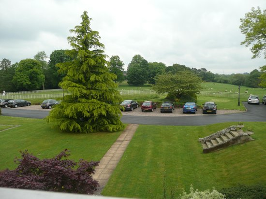 Brockencote Hall Hotel: view from bedroom