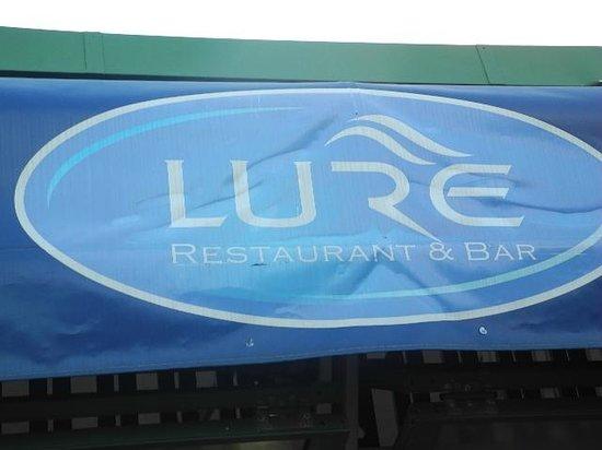 Lure Restaurant & Bar: Entrance