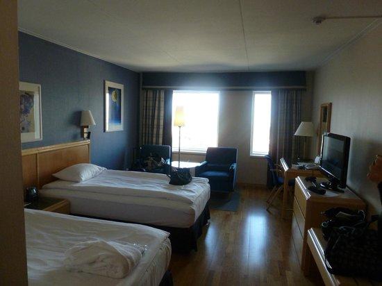 Scandic Triangeln: Sauberes, großes, wunderschönes Zimmer