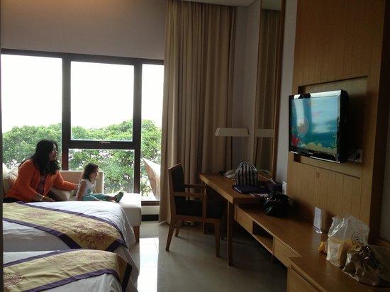 Grand Inna Kuta : Deluxe Twin Seaview Room - Beach Wing