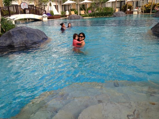 Grand Inna Kuta: Large Kelapa Pool. With two wading pools for the kids.