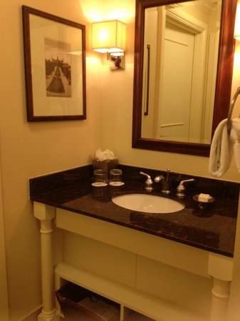 Omni Barton Creek Resort & Spa: Finally a normal Room 341 - Powder Room, separate from washroom