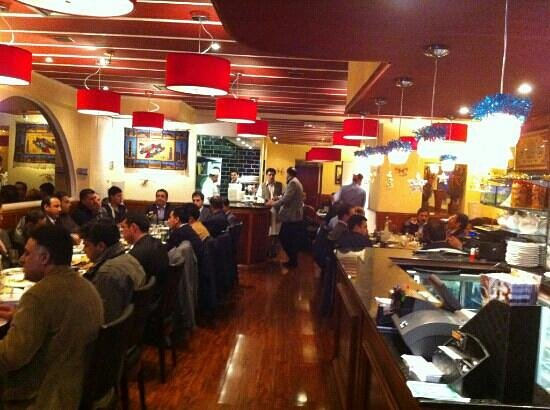 Kabul City Restaurant: Busy day at KCR