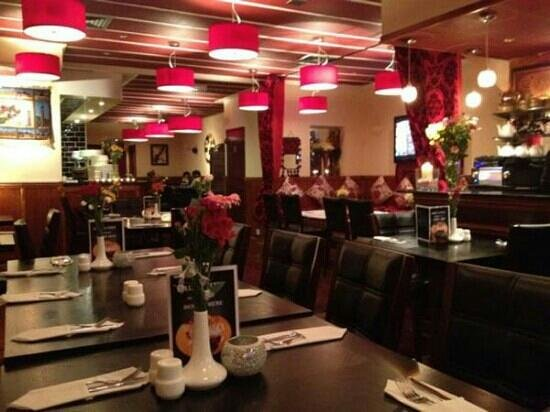 Kabul City Restaurant: interiors of KCR