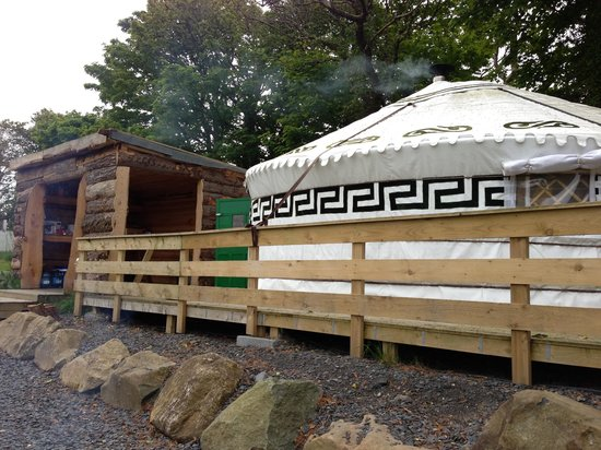 Gwaun View Yurts: Everything you need!