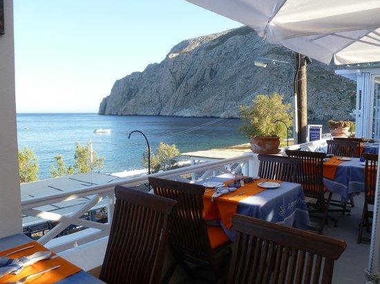 Atmosphere Lounge Restaurant: Endless Sea View