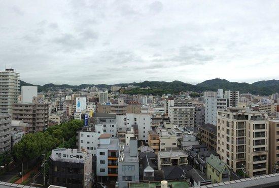 Kobe Luminous Hotel: 部屋から見得た景色です