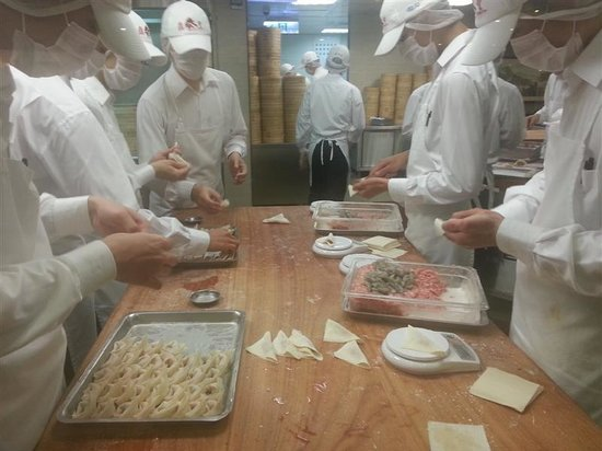 Din Tai Fung : come si preparano