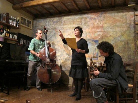 Spettacolo Jazz E Parole Con Roberto Bellatalla Errico De Fabritiis