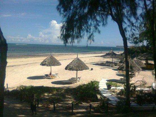 Scorpio Villas: veduta della spiaggia dall'alto
