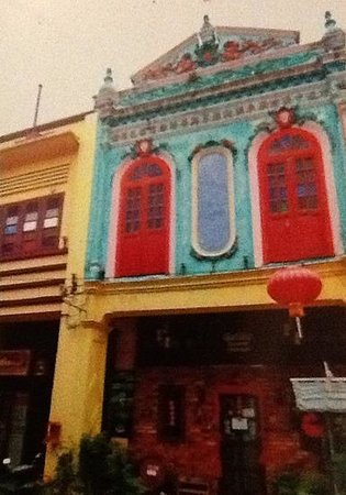 Melaka staten, Malaysia: melaka style houses