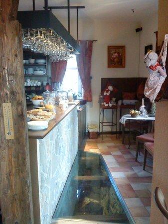 Penzion Villa Mon Ami: Dining Room