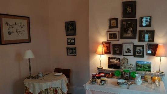 Farthings B & B: Breakfast room at Farthings