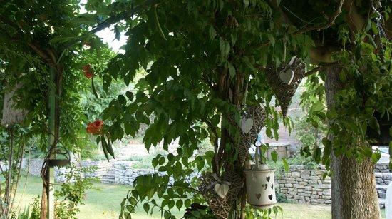 Le Mas des Anges : jardin