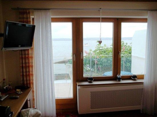Hotel Zur Winzerstube: Blick aus dem Zimmer