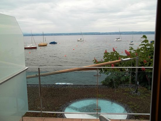 Hotel Zur Winzerstube: Blick  vom Balkon