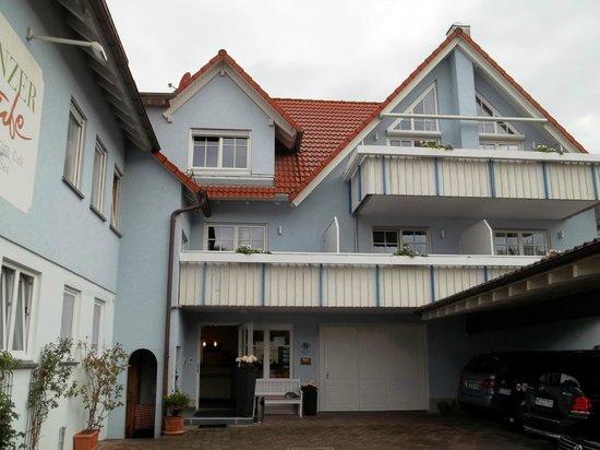 Hotel Zur Winzerstube: Hotelgelände