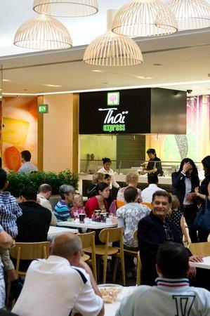 Thai Express: A full crowd! Enjoying our food.