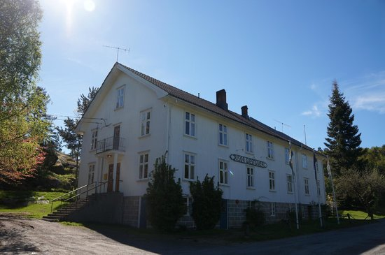 Risor Gjestgiveri: Front of the guesthouse