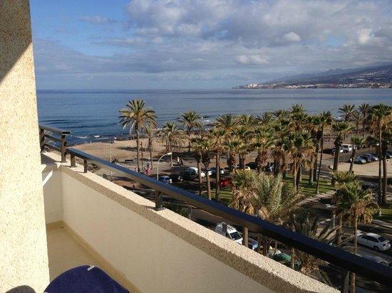 Vista al mar picture of h10 conquistador playa de las - The conquistador tenerife ...