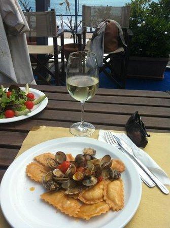 ravioli di pesce - Foto di Bagni Roma, Genova - TripAdvisor