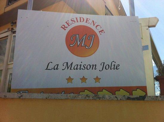 Residence La Maison Jolie : Außenansicht