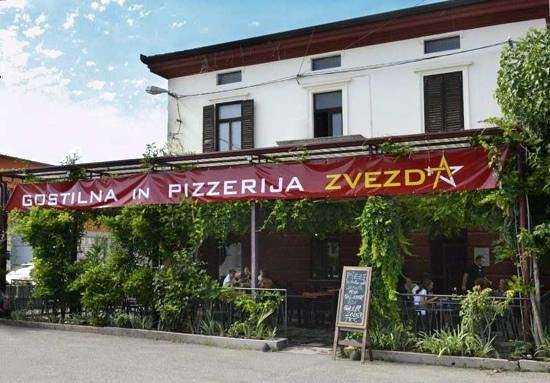 Solkan, Slovenien: gostilna in pizzerija Zvezda