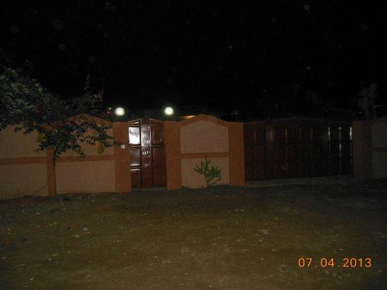 African-Swiss Guest House Accra: Der Eingangsbereich