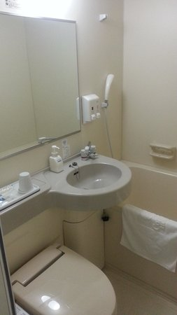 Comfort Hotel Tsubamesanjo: 浴室です