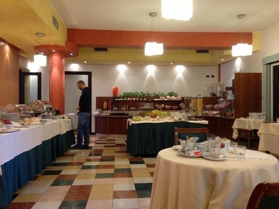 Hotel Villa Malaspina: buffet colazione
