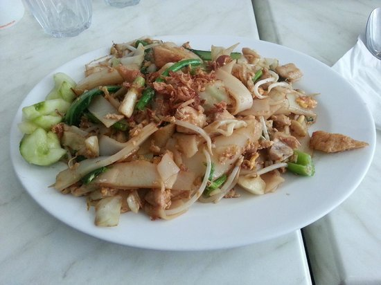 Java: The chicken kuey tiao