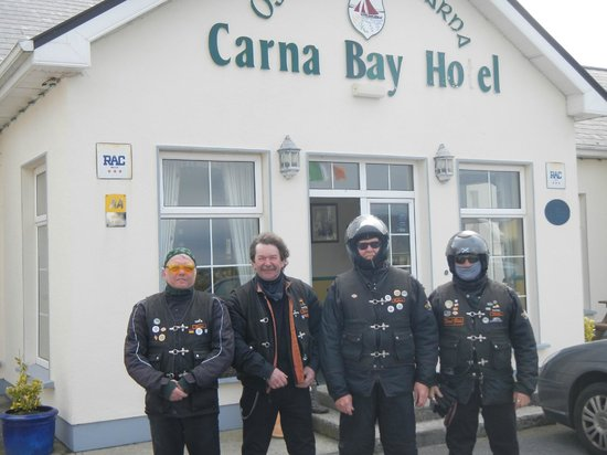 Carna Bay Hotel: Frontseite