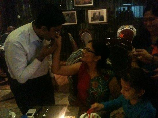 La Marvella Sarovar Premiere : Celebrating my birthday with my hubby and daughty!