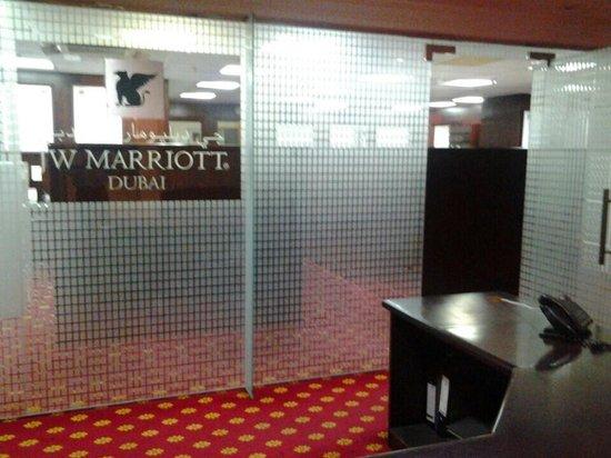 JW Marriott Hotel Dubai: ground floor offices