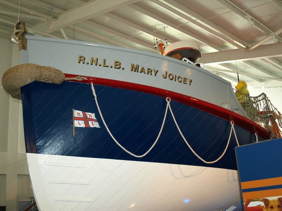 Newbiggin-by-the-Sea, UK: RNLB Mary Joicey