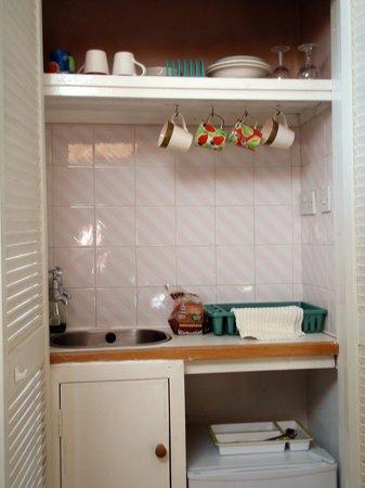 Old Toms B&B: kitchen-cupboard