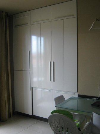 Residence Sottovento: zona pranzo e cucina