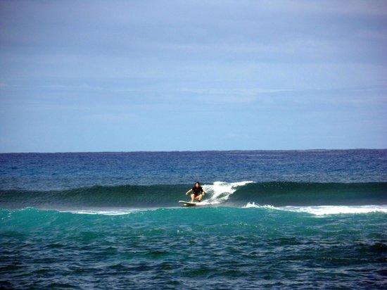 Puntas Surf School: lesson with puntas