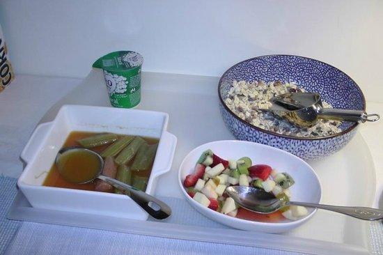 Sefton Villas B & B: Breakfast (part) at Sefton Villa Bed and Breakfast