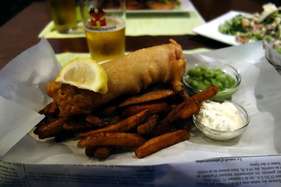 The Bubble : Fish and Chips