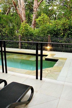 รีสอร์ทซีเทมเพิล & สปาปาล์มโคฟ: Our private plunge pool