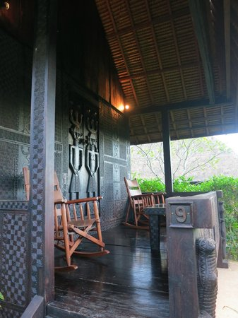 Tanah Merah Art Resort: Our Veranda