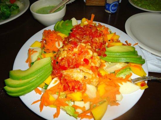 Taco Maya: Platillo vegetariano