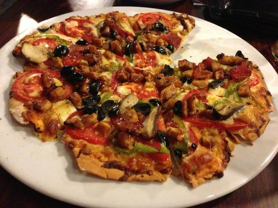 Aham Corner Guesthouse (Aussie Sports Bar & Guesthouse): Very good Pizza